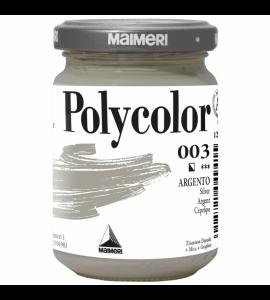 Tinta Acrílica Polycolor Maimeri 140ml Silver 003