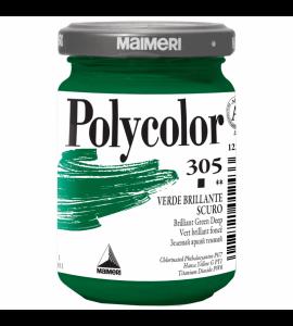 Tinta Acrílica Polycolor Maimeri 140ml Brilliant Green Deep 305