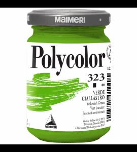 Tinta Acrílica Polycolor Maimeri 140ml Yellowish Green 323