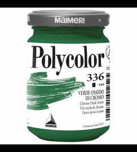 Tinta Acrílica Polycolor Maimeri 140ml Chrome Oxide Green 336