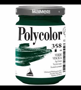 Tinta Acrílica Polycolor Maimeri 140ml Sap Green 358