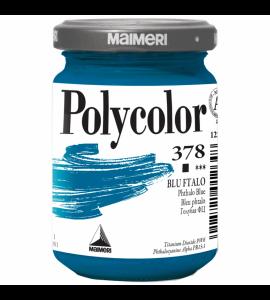 Tinta Acrílica Polycolor Maimeri 140ml Phthalo Blue 378