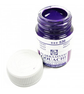 Tinta Guache Talens Para Caligrafia 536 Violet 16ml