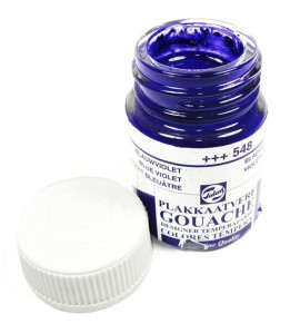 Tinta Guache Talens Para Caligrafia 548 Blue Violet 16ml