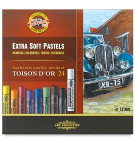 Pastel Seco Toison D'or Soft 24 Cores