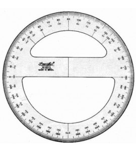 Transferidor Trident 8325 360°