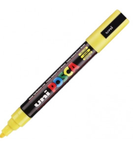 Caneta Posca Uni Ball PC-5M Amarelo