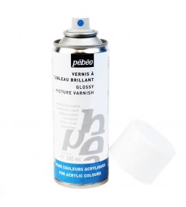 Verniz Spray Para Tinta Guache Pébéo 200ml