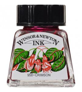 Tinta para Desenho Winsor & Newton 14ml Crimson