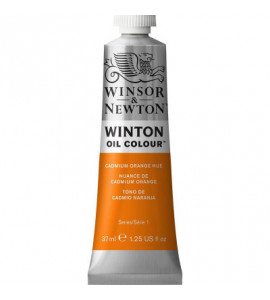 Tinta Óleo Winton 37ml Winsor & Newton 090 Cadmium Orange Hue