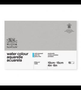 Bloco de Papel Para Aquarela Postcards Winsor & Newton 10x15cm