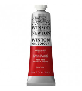 Tinta Óleo Winton 37ml Winsor & Newton 098 Cadmium Red Deep Hue