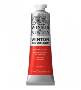 Tinta Óleo Winton 37ml Winsor & Newton 095 Cadmium Red Hue