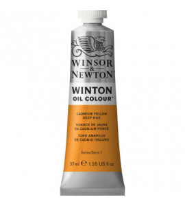 Tinta Óleo Winton 37ml Winsor & Newton 115 Cadmium Yellow Deep Hue