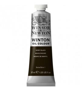 Tinta Óleo Winton 37ml Winsor & Newton 331 Ivory Black