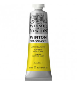 Tinta Óleo Winton 37ml Winsor & Newton 346 Lemon Yellow Hue