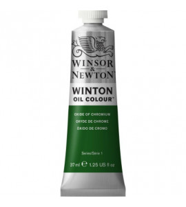 Tinta Óleo Winton 37ml Winsor & Newton 459 Oxide Of Chromium