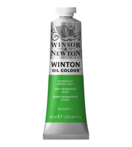 Tinta Óleo Winton 37ml Winsor & Newton 483 Permanent Green Light