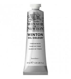 Tinta Óleo Winton 37ml Winsor & Newton 644 Titanium White