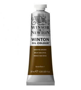 Tinta Óleo Winton 37ml Winsor & Newton 676 Vandyke Brown