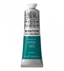 Tinta Óleo Winton 37ml Winsor & Newton 696 Viridian Hue Phthalo