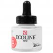 Tinta Ecoline Talens 30ml 100 White