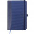 Caderneta Oxford Signature Pautada A6 Azul
