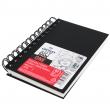 Bloco de Desenho Canson Sketchbook Espiral ONE A5 14x21,6cm