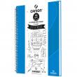 Caderno de Desenho A4 Azul Claro Canson 40 Folhas Universitário