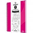 Caderno de Desenho A4 Rosa Canson 40 Folhas Universitário