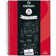 Caderno Universitário A4 80 Folhas Canson Vermelho Capa Dura
