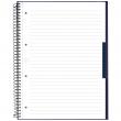 Caderno Universitário A4 80 Folhas Canson Azul Capa Dura