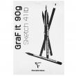 Bloco de Papel Para Desenho Branco Graf It A4 90m/g² 80 Folhas