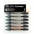 Promarker 06 Cores Tons de Pele Winsor&Newton
