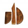 Estecas de Madeira para Modelagem 12 Peças