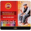 Lápis Aquarelável Koh-I-Noor Mondeluz 24 Cores