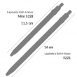 Lapiseira Mini Versátil Koh-I-Noor 5228 Preta 2.0mm