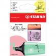 Marca Texto Boss Stabilo Mini Pastel Love com 3 Cores