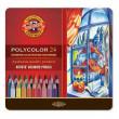 Lápis Polycolor Artístico Para Desenho 24 Cores