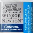 Tinta Aquarela Pastilha Cotman Winsor & Newton Cerulean Blue Hue 139