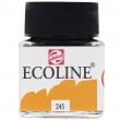Tinta Ecoline Talens 30ml 245 Saffron Yellow