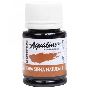 Aqualine Aquarela Líquida Corfix 11 Terra de Siena Natural 37ml