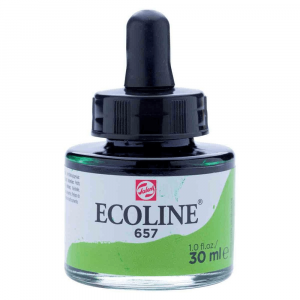 Tinta Ecoline Talens 30ml 657 Bronze Green