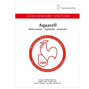 Bloco Aquarela Edição Aniversário Hahnemühle 30x40cm 50 Folhas