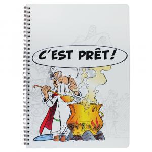 Caderno Clairefontaine Asterix Poção A4