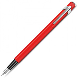 Caneta Tinteiro Caran d'Ache Pena M 849 Vermelha