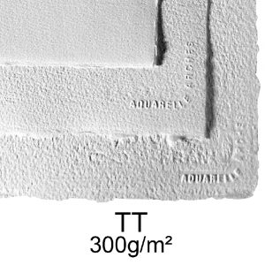 Papel Para Aquarela Arches Textura Rugosa TT 56x76 300g/m²