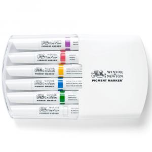 Marcador Winsor & Newton Pigment Marker Tons Ricos