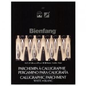 Papel Para Caligrafia Bienfang Pergaminho Branco