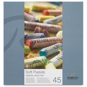 Pastel Rembrandt Talens 45 Cores